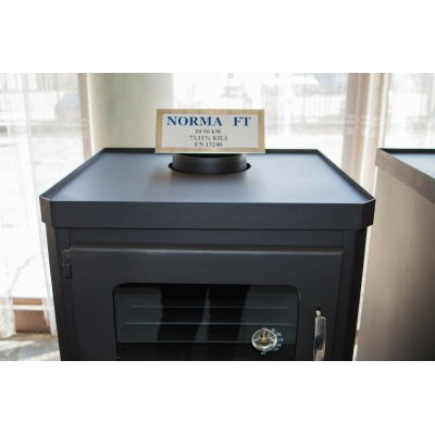Wood Burning Stove Oven Cooking Fireplace Log Burner Solid Fuel NORMA FT 10kw