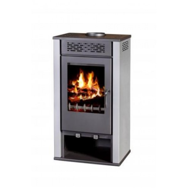 Wood Burning Stove Solid Fireplace Log Burner Multi Fuel MAGNA 7 kW