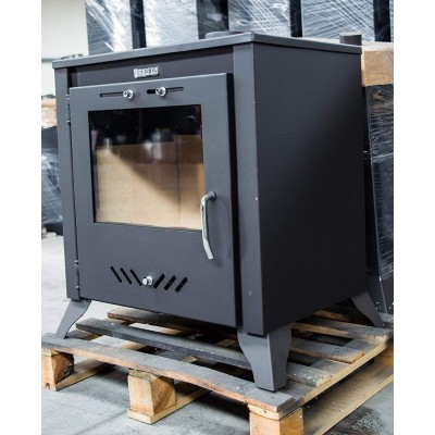 Wood Burning Stove Solid Fuel Fireplace Log Burner KUPRO LARGO 15kw