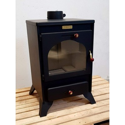 Wood Burning Stove Solid Fuel Fireplace Log Burner KUPRO ORIENT 9 kw