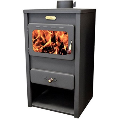 Wood Burning Stove Solid Fuel Fireplace Log Burner KUPRO Style10 kw