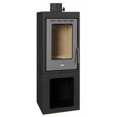 Wood Burning Stove Log Burner Fireplace Solid Fuel Modern Design Prity PMV 11kw