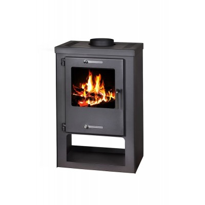 Wood Burning Stove Log Burner Solid Fuel Fireplace Wood and Coal 5-9 kW PREMIERE