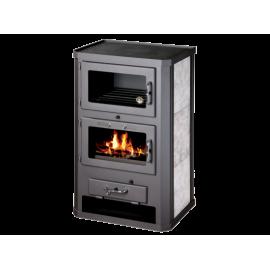 Wood Burning Stove Oven Fireplace Cooker Solid Fuel Log Burner 12 kW BImSchV 2
