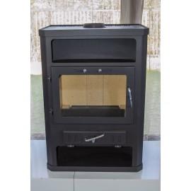 Wood Burning Stove Fireplace Ceramic Tiles Woodburning Log Burner 14kw CONCORD K