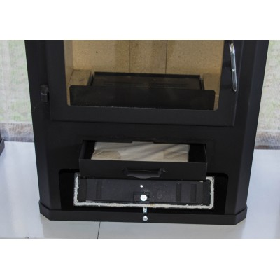 Wood Burning Stove Fireplace Ceramic Tiles Woodburning Log Burner 14kw CONCORD K