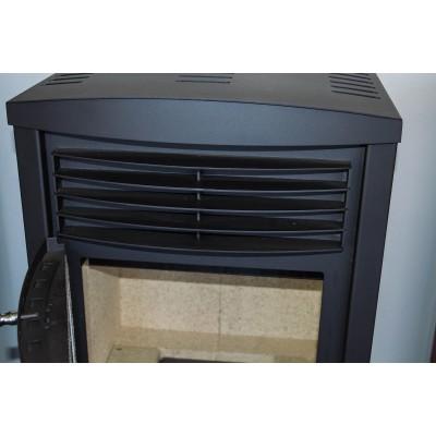 Wood Burning Stove Fireplace Log Burner Ceramic Glass Solid Fuel Woodburning 9kw