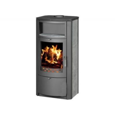 Wood Burning Stove Fireplace Log Burner Ceramic Lining New 7-12kw BImSchV 2