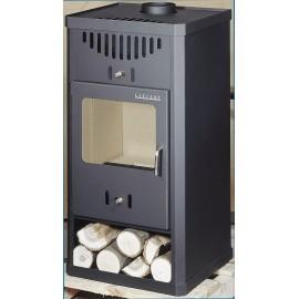 Wood Burning Stove Fireplace Log Burner Modern Multi Fuel ELEGANT 10 kW