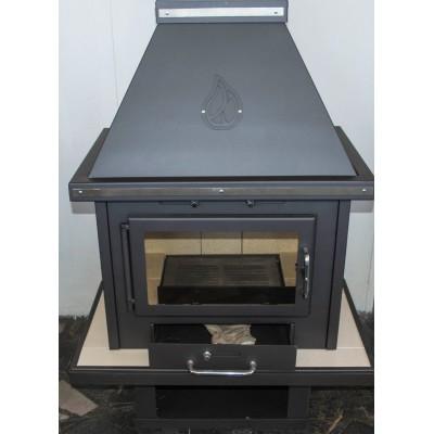 Wood Burning Stove Boiler Fireplace Water Jacket Solid Fuel Log Burner 14-24kw
