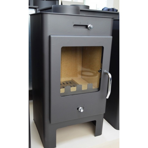 Wood Burning Stove Fireplace Log Burner Solid Fuel Top Flue 5-7 Kw BImSchV 2 CE