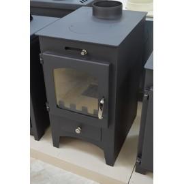 Wood Burning Stove Fireplace Log Burner Solid Fuel Top Flue 9.5 Kw BORA C