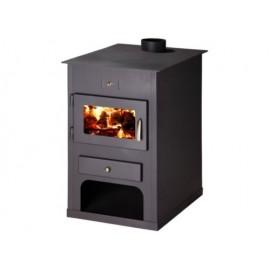 Wood Burning Stove Fireplace Modern Log Burner Woodburning 15-24 kW BImSchV 2