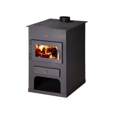 Wood Burning Stove Fireplace Modern Log Burner Woodburning 15-24 kW BImSchV 2