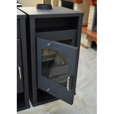 Wood Burning Stove Fireplace Water Jacket Back Boiler Woodburning Stove 12 kw