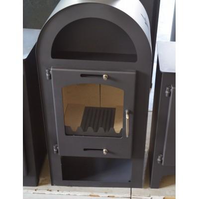 Wood Burning Stove Fireplace Modern Log Burner Woodburning Stove Top Flue 7kw