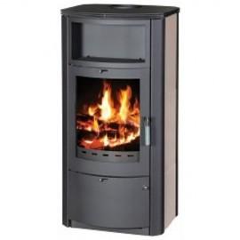 Wood Burning Stove Fireplace Modern Log Burner Woodburning Stove With Niche 7 kw