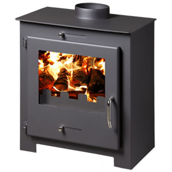 Wood Burning Stove Fireplace Woodburning Log Burner Solid Fuel 11-18kw BImSchV 2