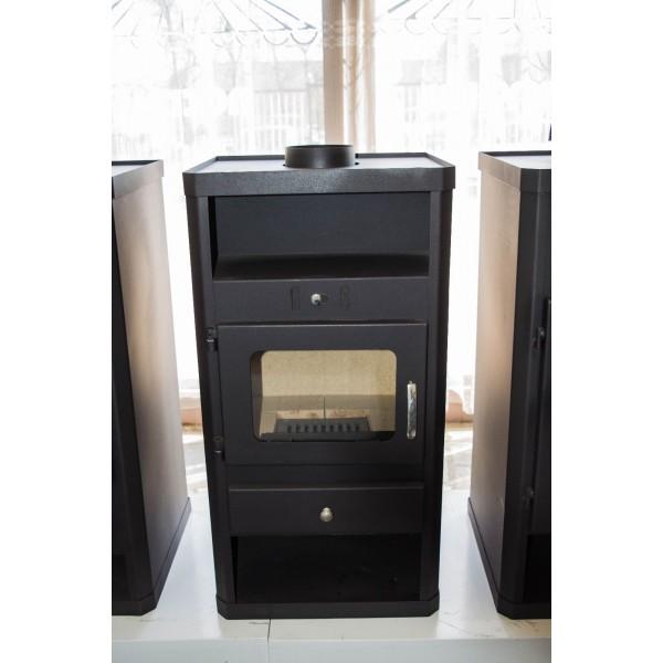 Wood Burning Stove Fireplace Modern Multi Fuel Log Burner NORMA 10 kW