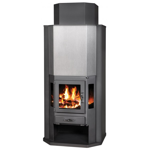 Wood Burning Stove Fireplace Solid Fuel Log Burner Woodburning Stove New 14 kw