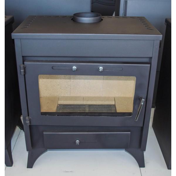 Wood Burning Stove Log Burner Fireplace High Efficient Modern New MODENA 13kw