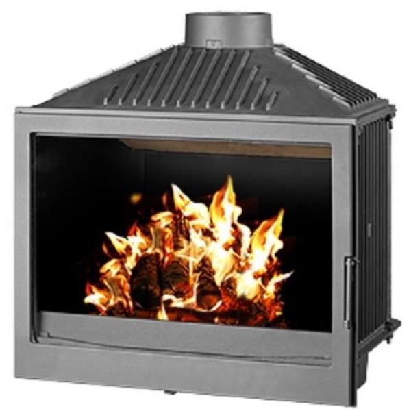 Wood Burning Stove Insert Inset Log Burner Built In Solid Fuel 11-20 kW BImSchV2