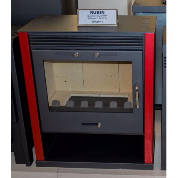 Wood Burning Stove Integral Boiler THERMAL DISCHARGER  Central Heating 13-21 kw