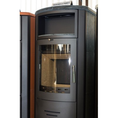 Wood Burning Stove Integral Boiler Fireplace Central Heating Solid 8 kw BImSchV2
