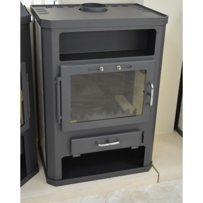 Wood Burning Stove Fireplace Log Burner Woodburning Stove Solid Fuel 14 kW