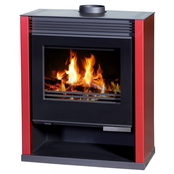 Wood Burning Stove Fireplace Log Burner Woodburning Stove Top Flue New 13-21kw