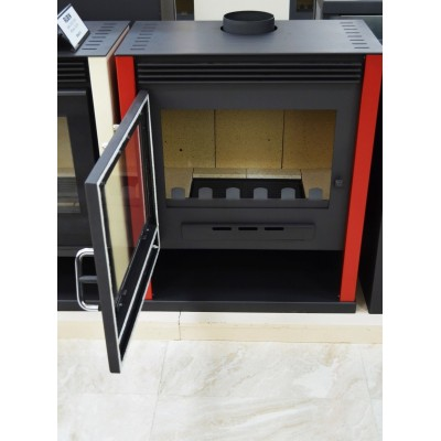 Wood Burning Stove Fireplace Log Burner Woodburning Stove Top Flue New 13kw