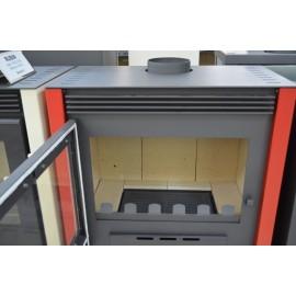 Wood Burning Stove Fireplace Log Burner Woodburning Stove Top Flue New 13kw