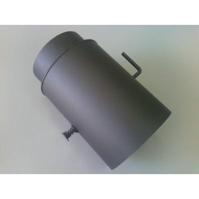 Chimney Flue Reducer with Damper Chimney Connector Adapter 150 mm to 120 mm V 05