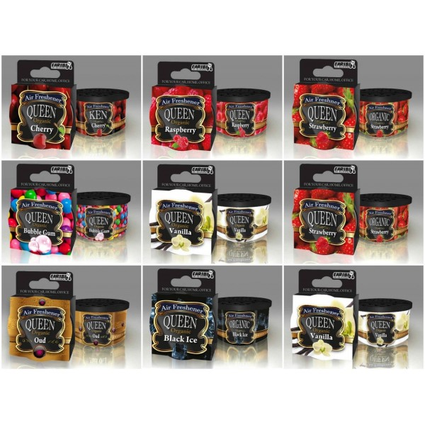 Set of Air Fresheners Caribi Ken Home Car Office Different Aromas  Long Lasting