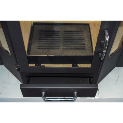 Fireplace Insert Inset Wood Burning Stove Log Burner Built In 18-32 kw Diplomat