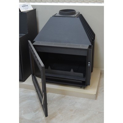 Inset Fireplace Wood Burning Stove Boiler Water Jacket 14KW SENATOR B