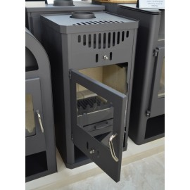 Wood Burning Stove 11-16 kW Solid Fuel Low Emissions Wood Storage DIN Plus
