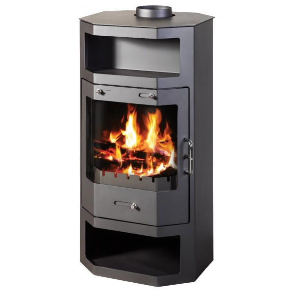 Wood Burning Stove 17 kW Fireplace Log Burner Low Emissions BlmSchV-2