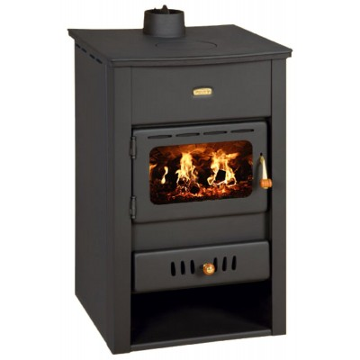 Wood Burning Stove Boiler Fireplace Cast Iron Cover 15 kw Prity K2 CPW13