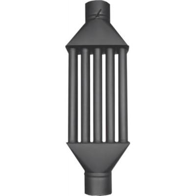 Chimney Woodburning Stove Radiator Heatexchanger  by Valve 5 tubes XL