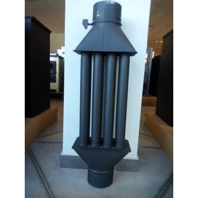 Chimney Woodburning Stove Radiator Heatexchanger by Valve 4 Tubes XL