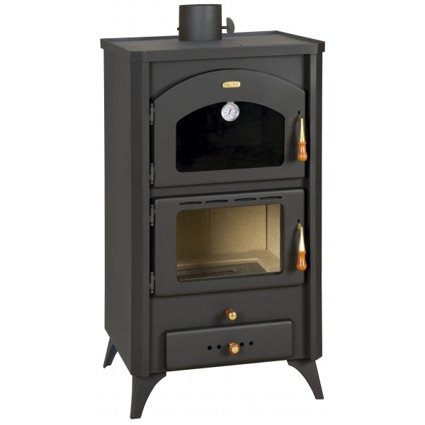 Wood Burning Stove Oven Cooker Fireplace Log Burner Solid Fuel 14kw Prity FGR
