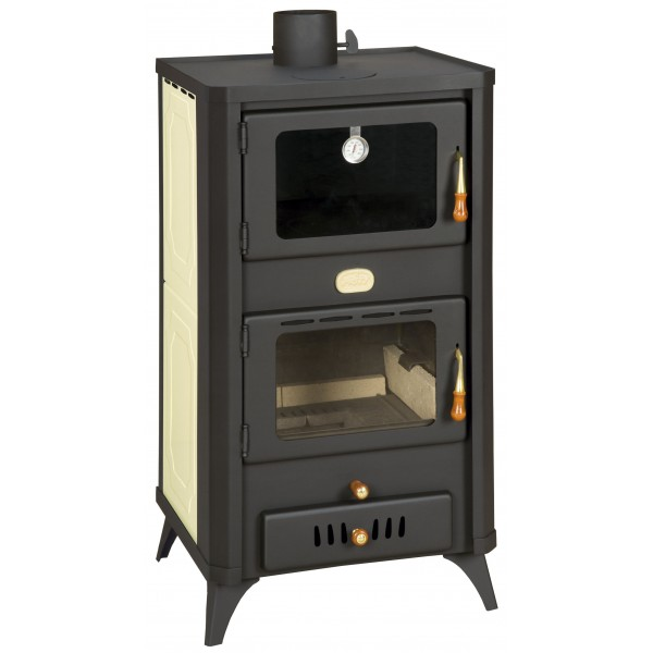 WoodBurning Stove Boiler Oven Cooker Fireplace 23kw Prity FGW18R