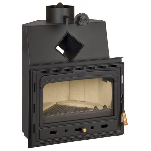 Insert Corner Fireplace Cast Iron Multi Fuel Built in Wood Stove Prity АC