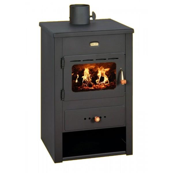 Wood Burning Stove Fireplace Multi Fuel Log Burner Ceramic Glass 10kw Prity K12