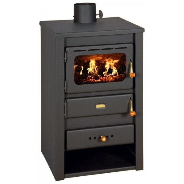 Wood Burning Stove Multi Fuel Fireplace Log Burner Solid Fuel Prity K22 - 10KW