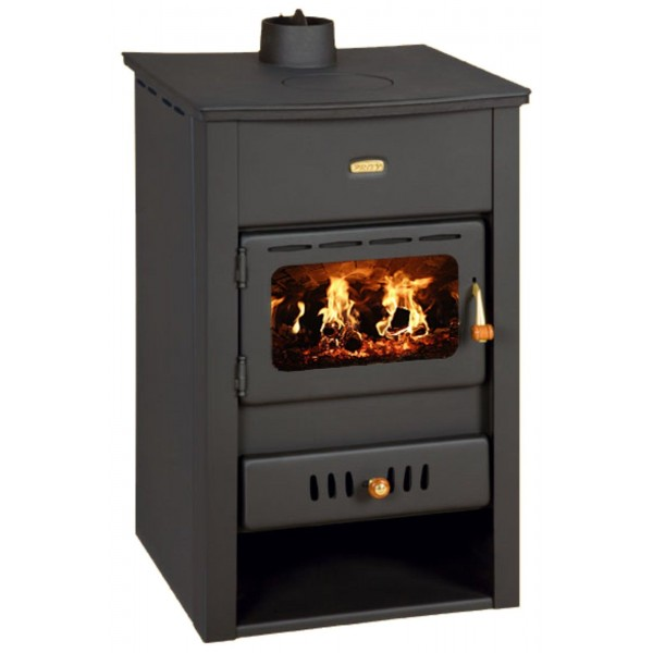 Wood Burning Stove Boiler Fireplace Cast Iron Cover 15 kw Prity K2 CPW10