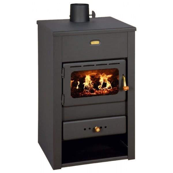 Wood Burning Stove Multi Fuel Fireplace Log Burner Solid Fuel 10kw Prity K2