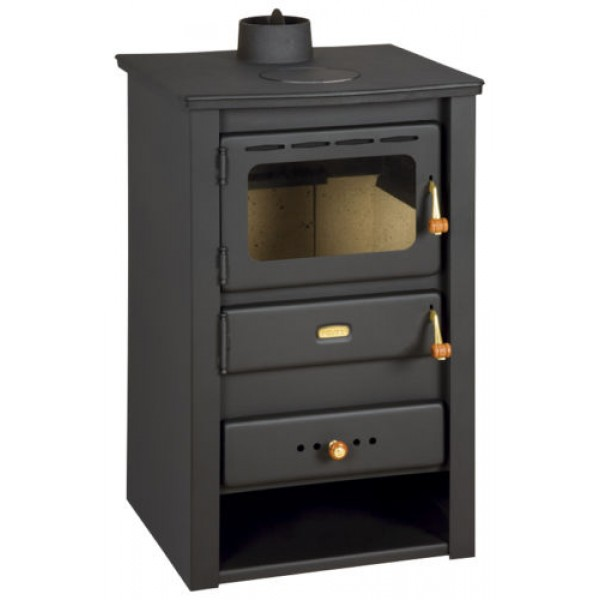 Wood Burning Stove Solid Fuel Fireplace Prity K22 CP with Cast Iron Top