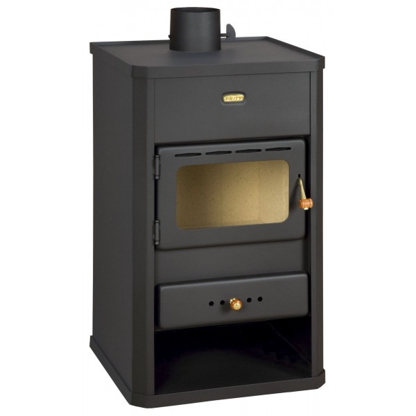 Wood Burning Stove Multi Fuel Fireplace Woodburning Log Burner Prity S1
